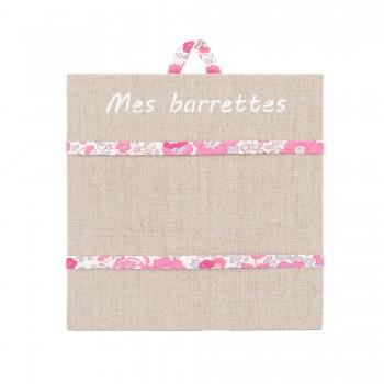 Porte barrettes liberty whiltshire rose