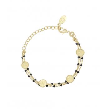 Bracelet OLYMPE Email noir