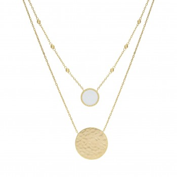 Collier EOLE Email blanc