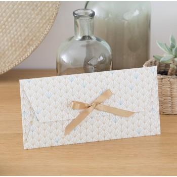 Enveloppe cadeau réutilisable MAUD Or Végétal