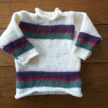 Pull 6 mois tricoté main (N°20-28)