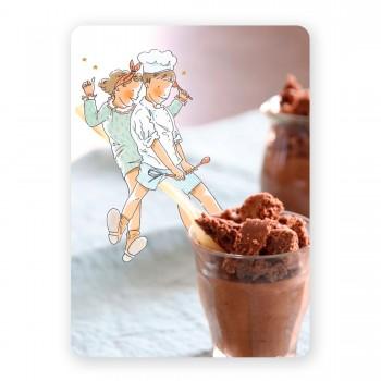 Croustillante mousse au chocolat