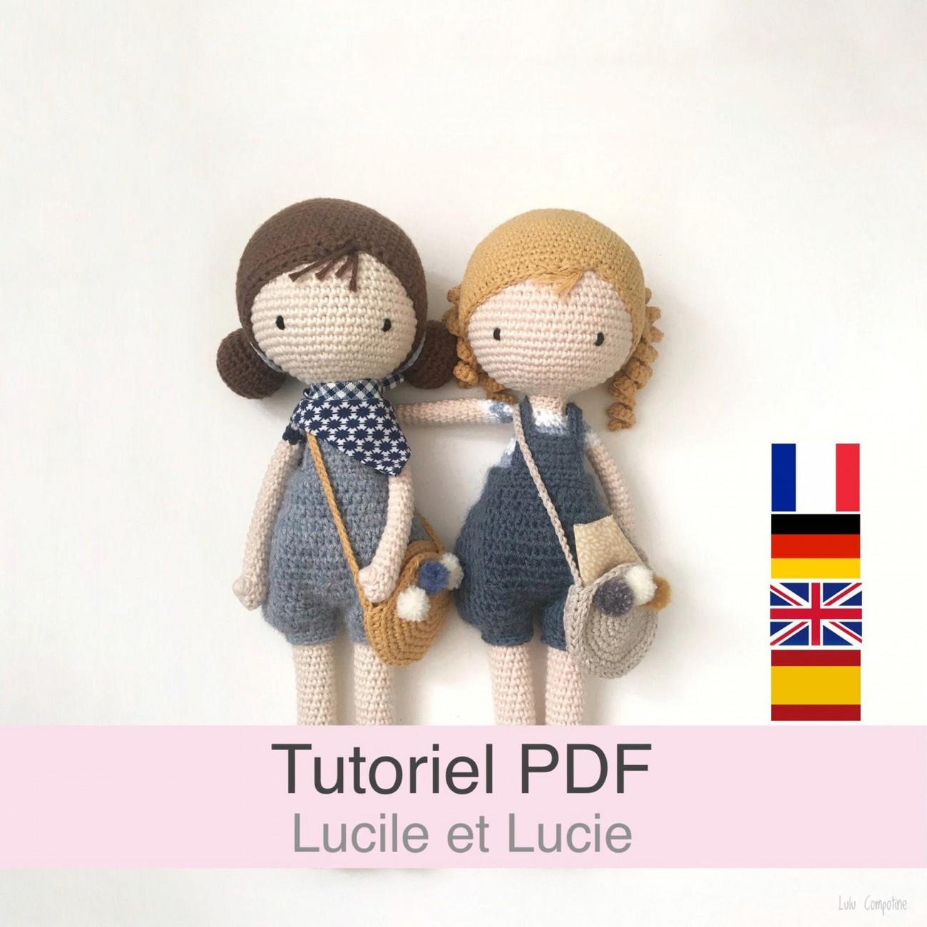 Tutoriel PDF Poupées Lucile et Lucie