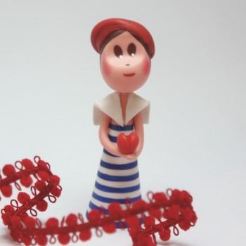 Valentine au béret rouge