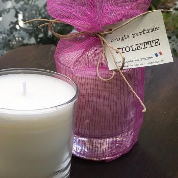 Bougie parfumée «Violette»