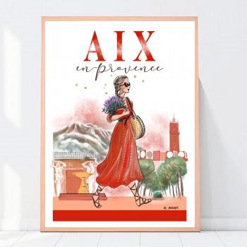 Affiche A3 Aix