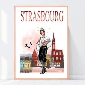Affiche A3 Strasbourg