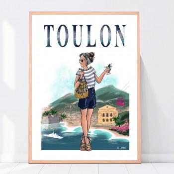 Affiche Toulon