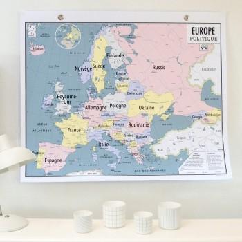 Europe politique - Carte N°4